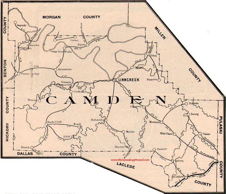 118 best Vintage Missouri County Maps images on Pinterest Maps