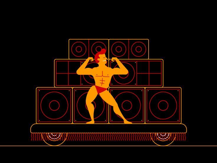 Muscle Dude by Andreas Bjørn Hansen