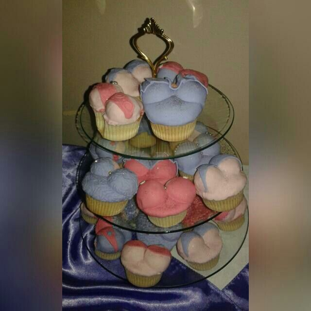 Cupcakes for a kitchentea