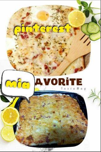 Revista de cocina-cocinera angela PIZZA CARBONARA