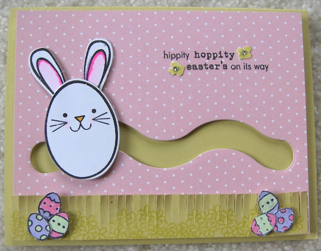 .Bunny slider card