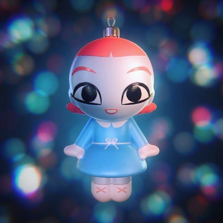 いいね!3,009件、コメント11件 ― Anna Cattishさん(@anna_cattish)のInstagramアカウント: 「🎶🎵🎶 Nana wishes you Merry Christmas!⛄️ Music @sashadza ❄️ Animation @stas_bashkatov 🎅🏻 #nanathegirl…」