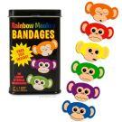 Rainbow Monkey Bandages