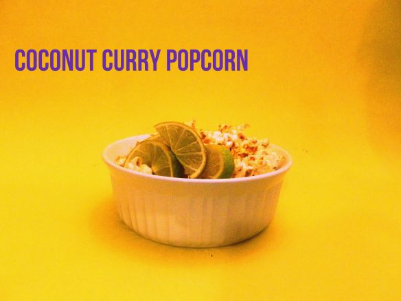 Curry Popcorn Recipe — Dishmaps