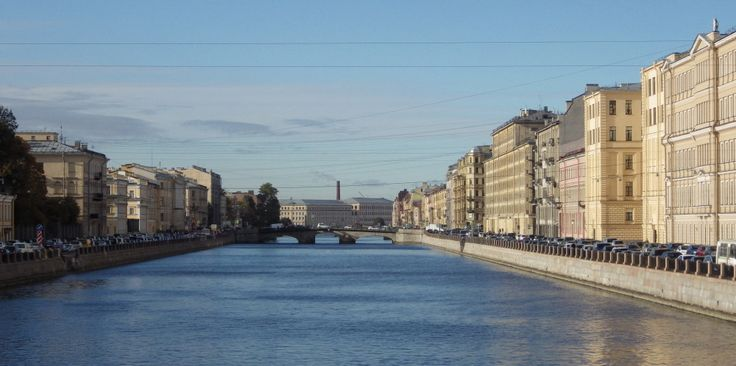 Фонтанка. Вид с Обуховского моста