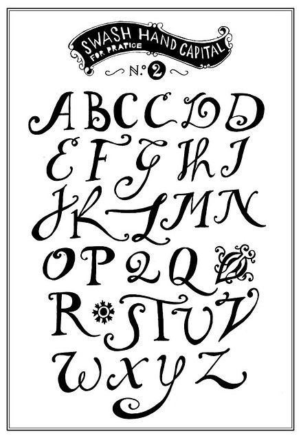 Love this font...gonna practice it for my journaling.
