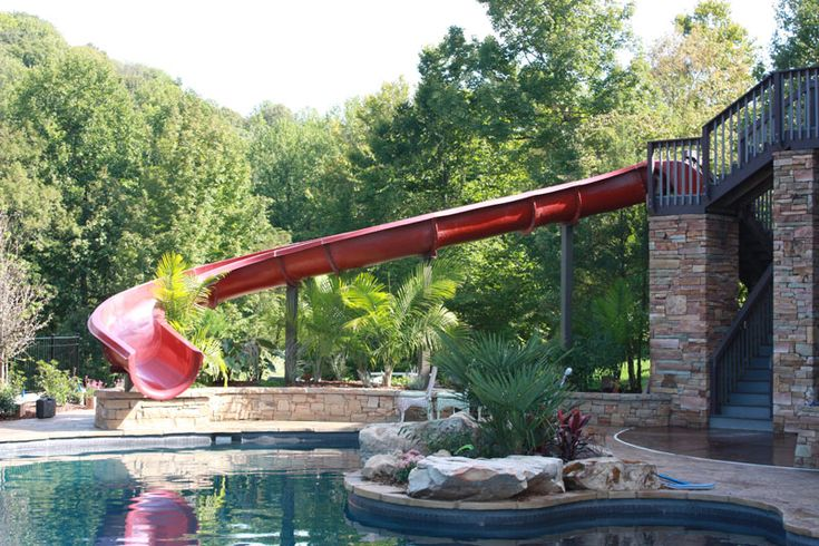 7 best images about waterslides on pinterest Swimming pools in liverpool with slides