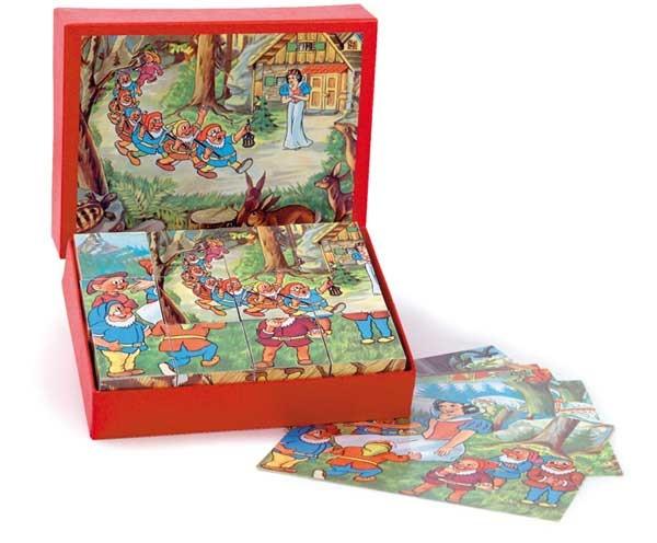 Märchen-Puzzlewürfel
