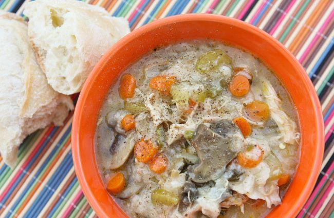 Pip & Ebby - Pip & Ebby - Chicken rice soup