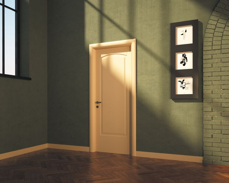 FBP porte | Collezione ALICE - Mod. Alice1C - Colore:laccata RAL 1013 #fbp #porte #legno #door #wood #varnish #classic
