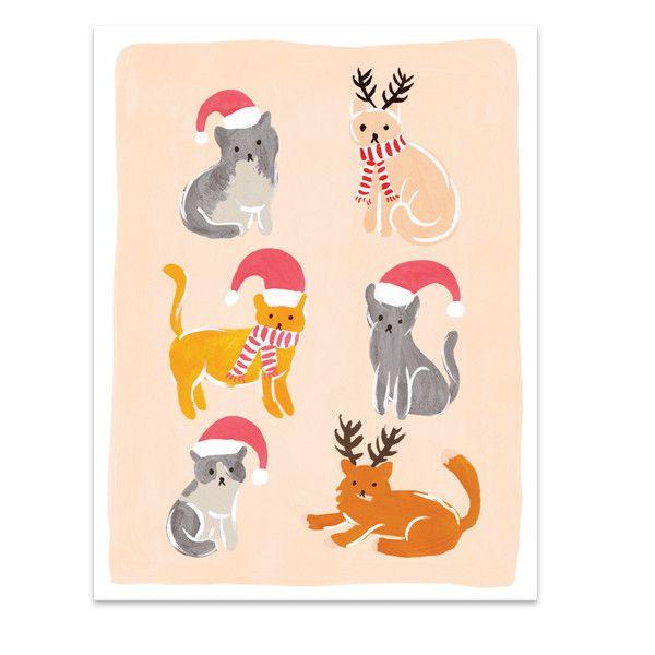 Cats At Christmas Video