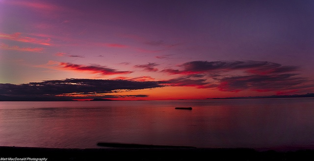 A Touch Of Pink Qualicum Beach by kanuck3, via Flickr (Vancouver Island)