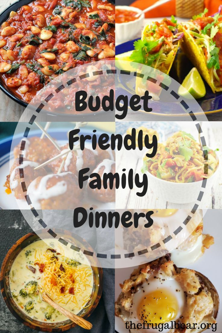 Easy Budget Friendly Spring Decorating: Budget Friendly Dinner Ideas