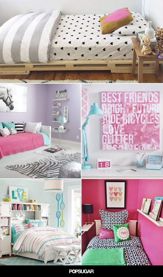131 Best Images About Girls Bedroom On Pinterest Hot Pink Bedding Name Wall Stickers And