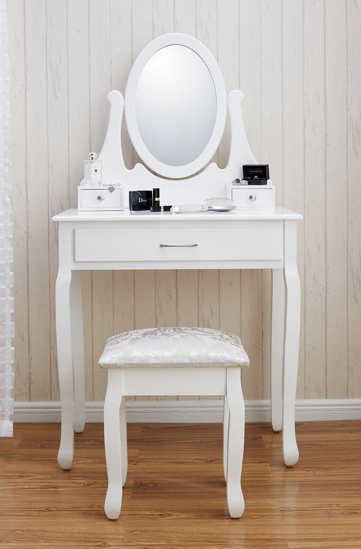 Best 25 narrow dressing table ideas on pinterest large dressing white dressing table mirror and stool set geotapseo Choice Image