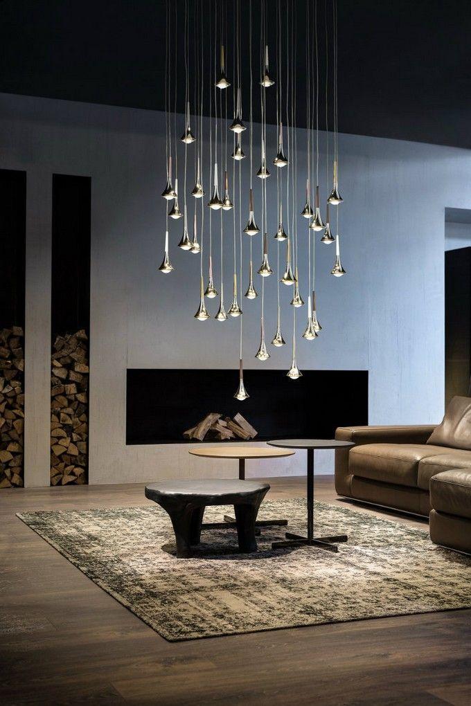 Mid Century Chandeliers And Pendant Lamps Always Delightfull Www Delightfull Eu V Contemporary Home Decor Contemporary House Design Contemporary Lighting