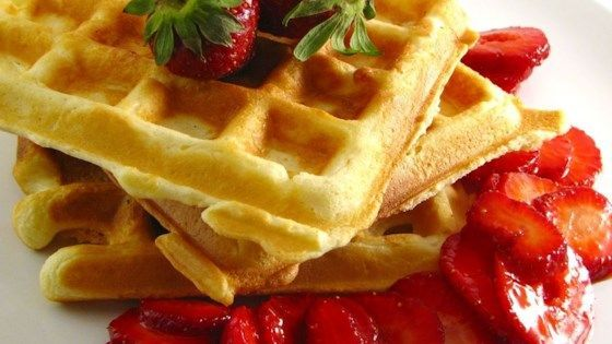 A classic waffle recipe includes basic ingredients you probably already have on hand, creating a perfectly crisp breakfast item.