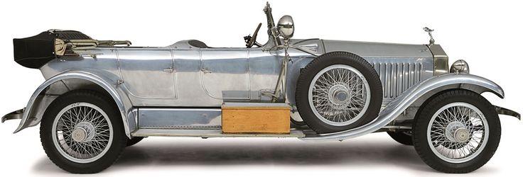 ROLLS-ROYCE - 40-50-HP PHANTOM BARKER TORPEDO TOURER - 1926