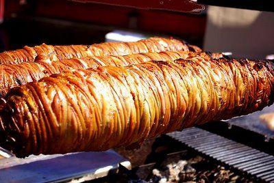 Kokoreç - lambs' intestines