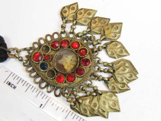 TRADITIONAL TIBETAN SILVER NECKLACE  100 CTS TR 870  FASHION ACCESSORY FROM JEWELERY-AUCTIONED.COM