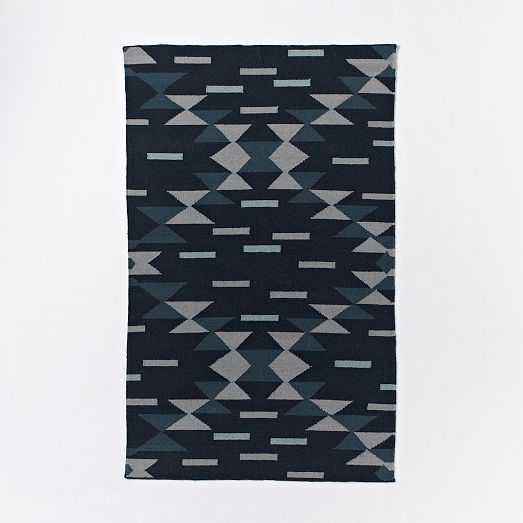 MIAC Dragonfly Wool Dhurrie | West Elm · Rug SaleRug ...