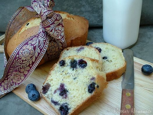 Blueberry Orange Bread | Recipe