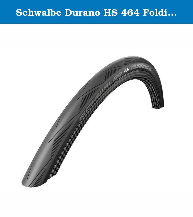 Schwalbe Durano HS 464 Folding Road Bicycle Tire (Black - 26 x 1.10). br>For mile eaters. The popular Durano has a completely new profile and is now 10 grams lighter. Its outstanding qualities remain: Extremely high mileage. Dual compound for best grip - even training on wet winter roads. Proven RaceGuard protection belt. Lots of attractive colours and an all white version. .