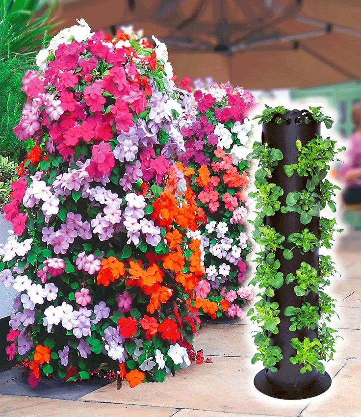 Fabulous Flower Tower St ck jetzt g nstig in Ihrem MEIN SCH NER GARTEN Gartencenter schnell