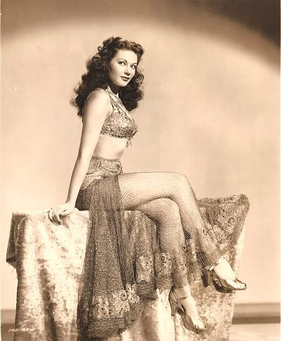 "Yvonne DeCarlo movie ""Salome where she danced"""