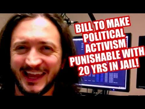 URGENT: Congress Considering Bipartisan Bill To Make Political Activism A Felony