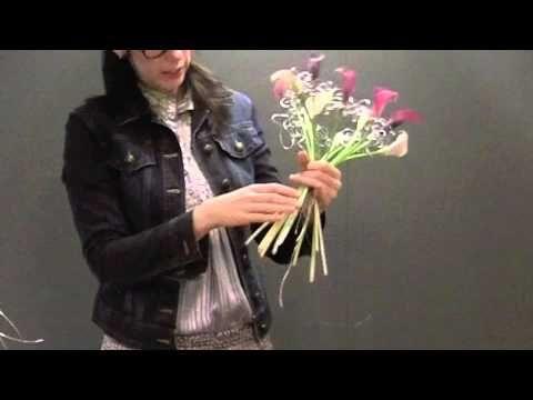 Super leuk Calla Boeket, zelf te maken!!! - YouTube