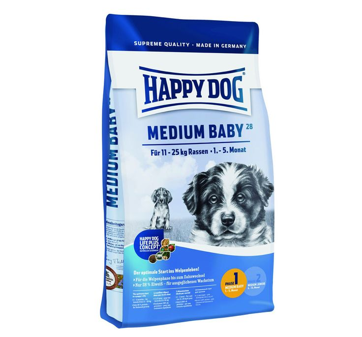 Happy Dog Medium Breed Baby Dog Food 1 Kg Buy Dog Food Online http://www.dogspot.in/treats-food/