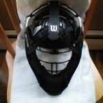 Wilson Shock FX 2.0 Steel Umpire Helmet (#A5591) Back
