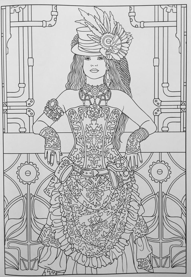 2777 best Adult Coloring Pages images on Pinterest Coloring