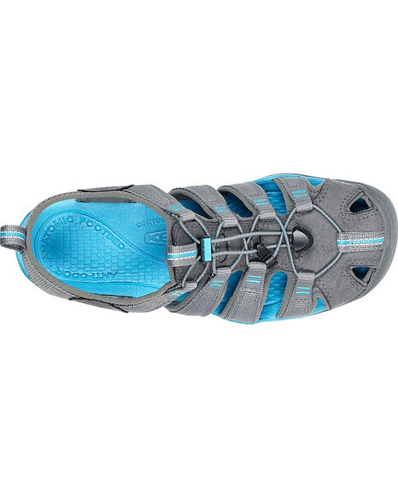 Keen Clearwater CNX Womens Sandals Gargoyle/Norse Blue