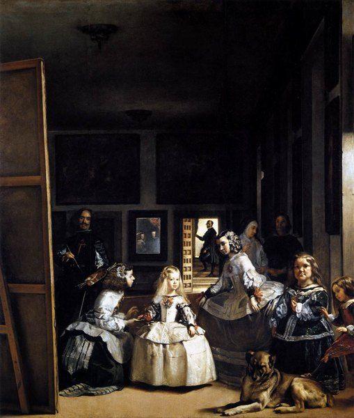 Les Ménines - Diego Vélasquez Huile sur toile -1656-57 318 x 276 cm Museo del Prado, Madrid