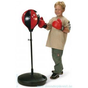 Kings sport boksbal op staander