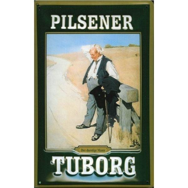 Tuborg metalskilt, Pilsener