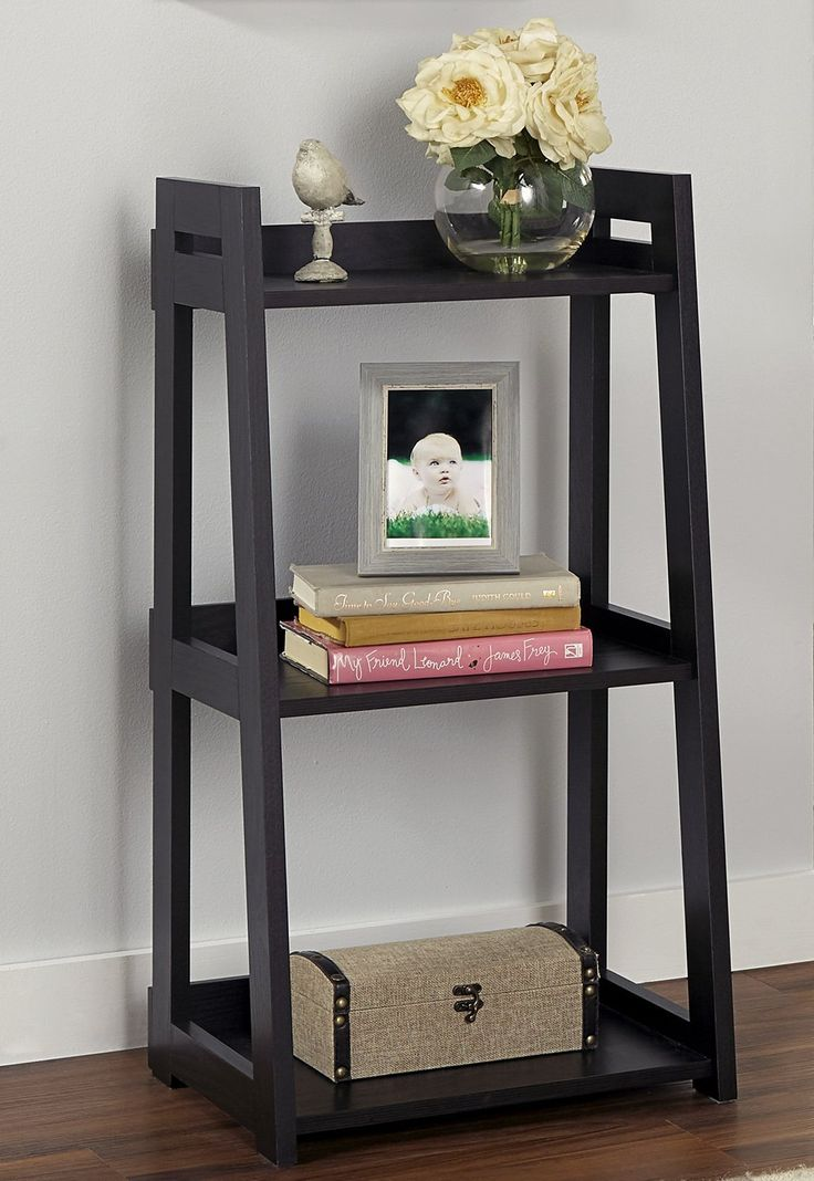 Add Style To Your Study Or Home Office With A No Tool Ladder Bookshelf From
