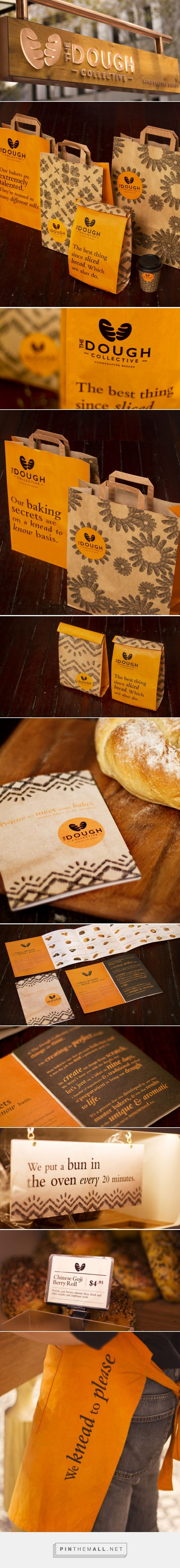 The Dough Collective Bakery Branding and Packaging by The Creative Method | Fivestar Branding Agency – Design and Branding Agency & Curated Inspiration Gallery