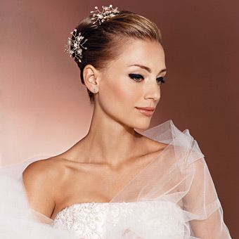 Brides Magazine: Wedding Beauty Tips by Location : Wedding Hairstyle Gallery