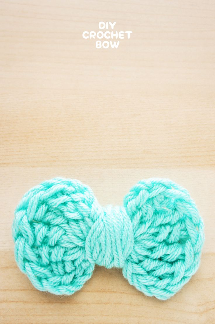 DIY • Crochet Bow Pattern