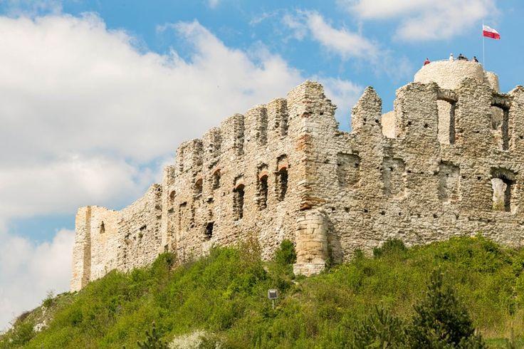 Ruiny zamku Rabsztyn