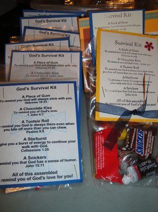 God's Survival kits. From http://angieannastamps.typepad.com
