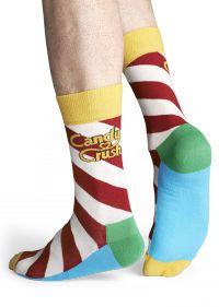Candy Crush Polka Sock