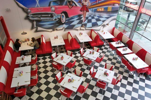 Los INCREÍBLES restaurantes en los 50's