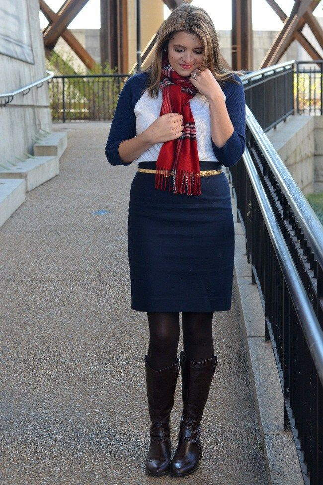 Casual Pencil Skirt - Fizz and FrostingFizz and Frosting