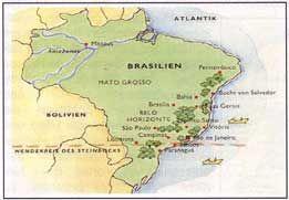 Kaffee: Anbauländer - Brasilien
