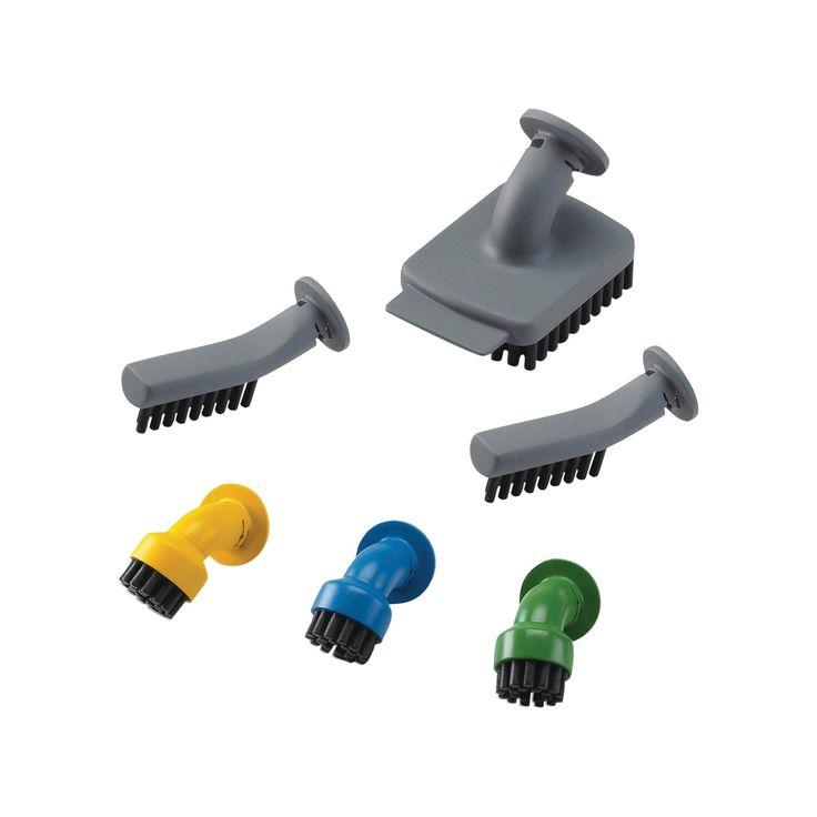Black+decker Steam-Mop Handheld Steam Cleaner Accessory Brush Set - BDH300ASM, Gray