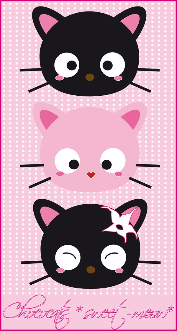chococats from http://meow-mau-mau.deviantart.com/art/chococat-meow-113414552